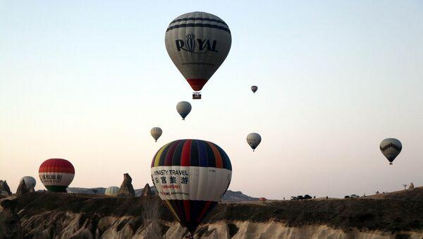 Kapadokya'da sıcak hava balon turları - Sputnik Türkiye