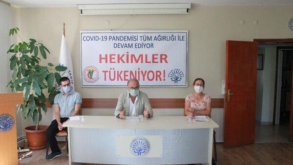 TTB ve ATO'dan açıklama: Hekimler tükeniyor - Sputnik Türkiye