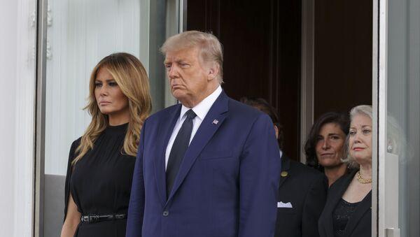 Trump'ın kardeşine Beyaz Saray'da cenaze töreni - Sputnik Türkiye
