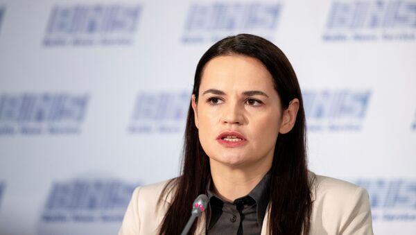 Svetlana Tihanovskaya - Sputnik Türkiye
