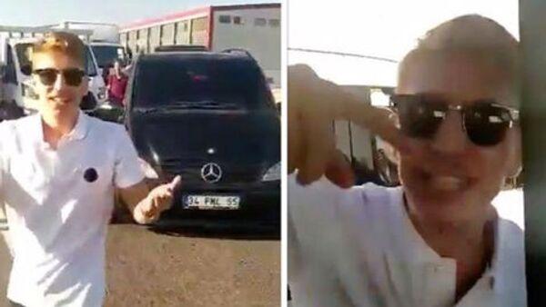 Hadımköy'de çakarlı aracıyla trafikte tartıştığı aracın önünü kesip sürücüsünü bıçaklayan saldırgan Muhammed Enes Uysal Avcılar'da yakalandı. - Sputnik Türkiye