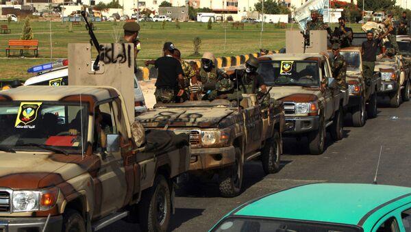 Halife Hafter liderliğindeki Libya Ulusal Ordusu - Sputnik Türkiye