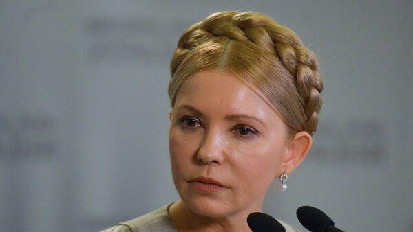 Eski Ukrayna Başbakanı ve muhalif Batkivşina Partisi lideri Yuliya Timoşenko - Sputnik Türkiye