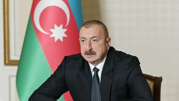 Azerbaycan Devlet Başkanı İlham Aliyev - Sputnik Türkiye