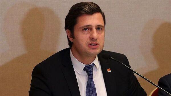 CHP İzmir İl Başkanı Deniz Yücel - Sputnik Türkiye