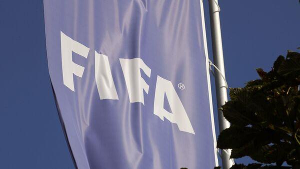 FIFA logo - FIFA bayrak - Sputnik Türkiye
