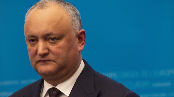 Moldova Devlet Başkanı İgor Dodon - Sputnik Türkiye