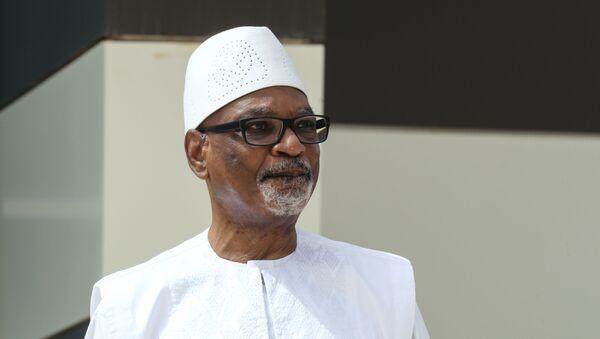Mali'nin devrik lideri İbrahim Boubacar Keita - Sputnik Türkiye