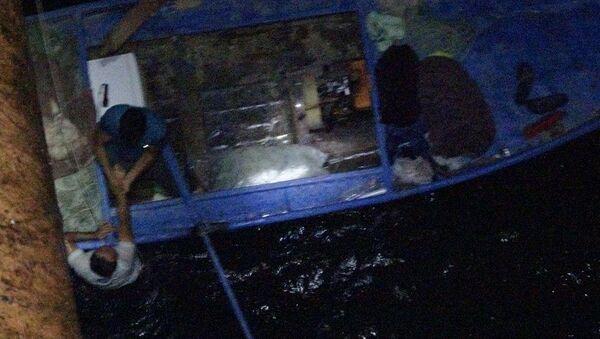 Köprüden göle düştü, balıkçıların attığı ağla kurtuldu - Sputnik Türkiye
