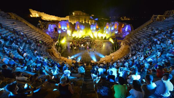 Patara Antik Kenti'nde restorasyon sonrası ilk konser - Sputnik Türkiye