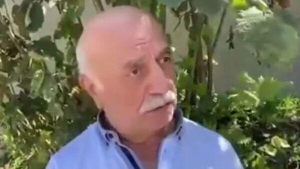 Giresun'daki sel sonucu 6 canın yitirildiği menfez için aylar önce karayollarına şikayet dilekçesi veren Ahmet Karadeniz - Sputnik Türkiye