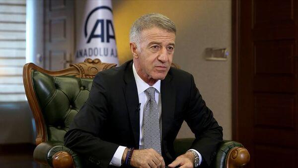 Trabzonspor Başkanı Ahmet Ağaoğlu - Sputnik Türkiye