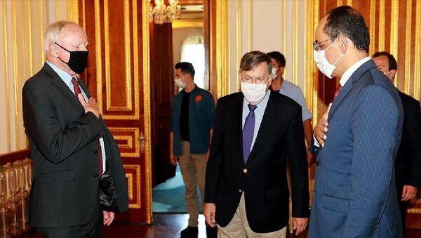 Cumhurbaşkanlığı Sözcüsü İbrahim Kalın - ABD'nin Suriye Özel Temsilcisi James Jeffrey - Sputnik Türkiye