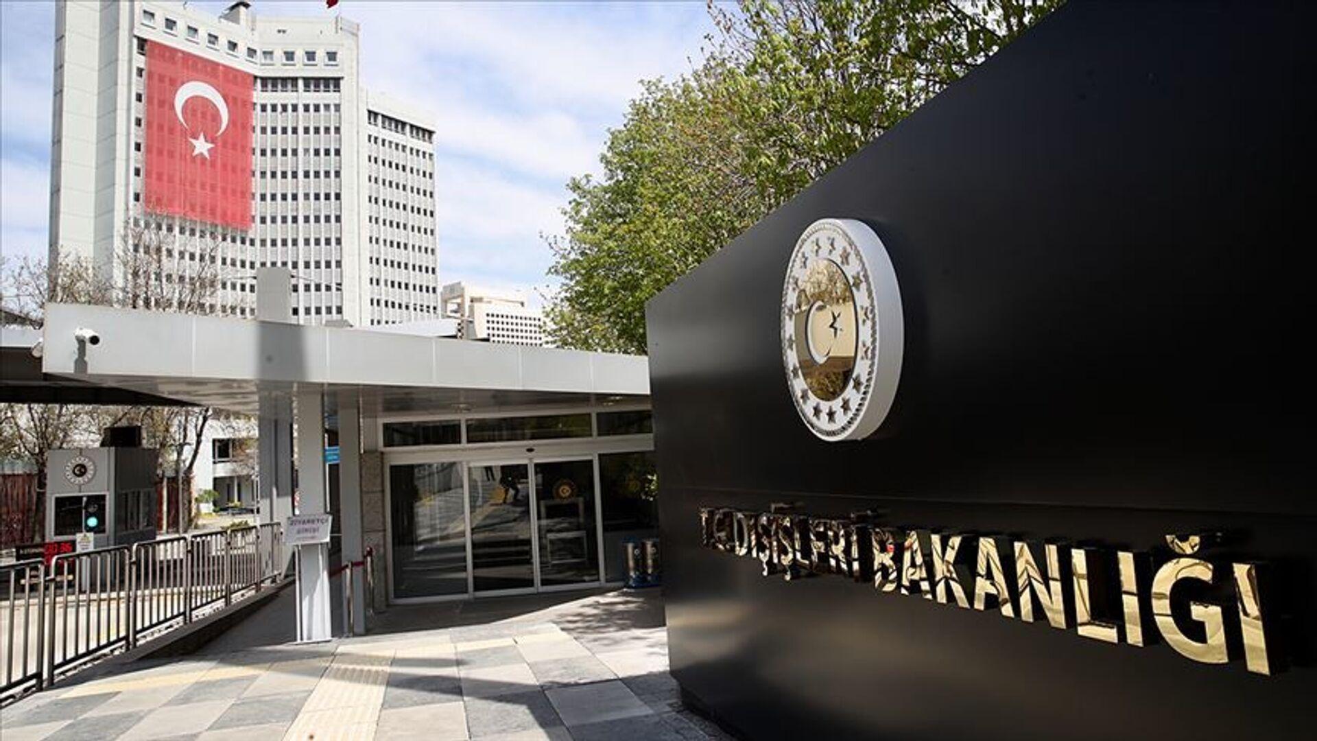Dışişleri Bakanlığı binası Türkiye - Sputnik Türkiye, 1920, 18.09.2021