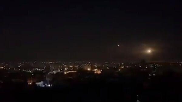 Şam'a hava saldırısı, İsrail'den Şam'a saldırı - Sputnik Türkiye