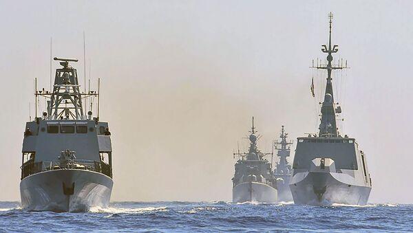 Yunanistan, İtalya, Kıbrıs ve Fransa Doğu Akdeniz'de ortak tatbikat düzenledi. - Sputnik Türkiye