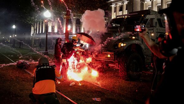 ABD, Kenosha, Jacob Blake, protesto - Sputnik Türkiye