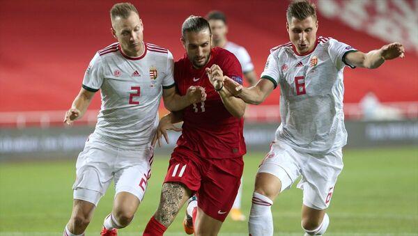 A Milli Futbol Takımı, 2020-2021 UEFA Uluslar B Ligi 3. Grup'taki ilk maçında Sivas Yeni 4 Eylül Stadı'nda Macaristan'la karşılaştı - Sputnik Türkiye