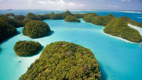 Büyük Okyanus'ta bulunan ada ülkesi Palau - Sputnik Türkiye