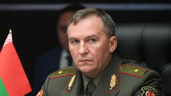 Belarus Savunma Bakanı Viktor Hrenin - Sputnik Türkiye