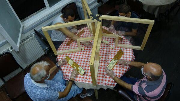 Samsun'da kahvehanede oyun yasağına çözüm olacak proje - Sputnik Türkiye
