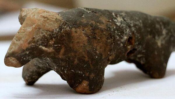 Maydos Antik Kenti'nde 3 bin yıllık koç figürü  - Sputnik Türkiye