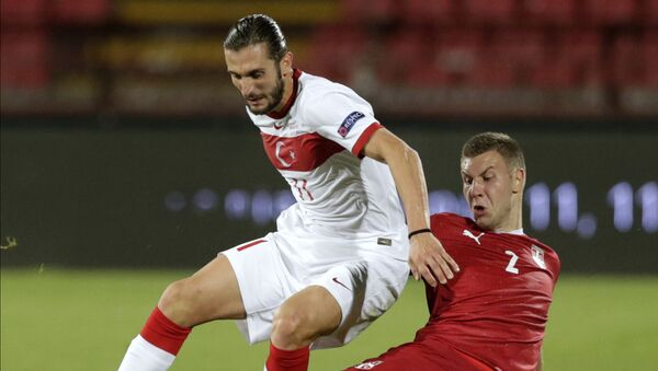 A Milli Futbol Takımı, UEFA Uluslar B Ligi 3. Grup ikinci maçında deplasmanda karşılaştığı Sırbistan ile 0-0 berabere kaldı. - Sputnik Türkiye