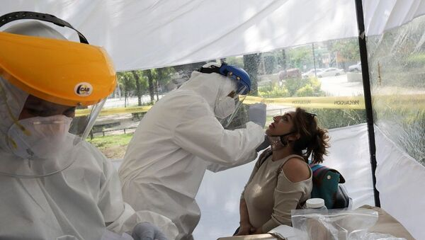 Meksika'da koronavirüs - Sputnik Türkiye