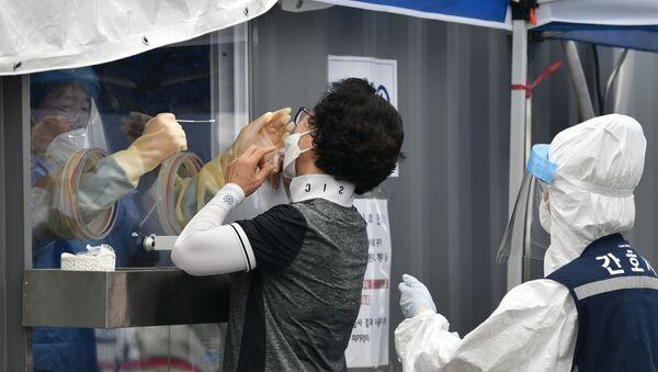 Güney Kore-koronavirüs-salgın - Sputnik Türkiye