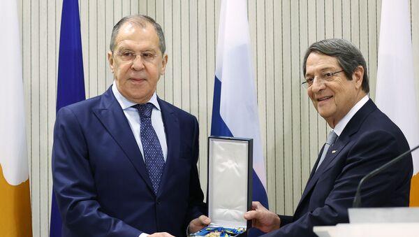 Lavrov, Kıbrıs - Sputnik Türkiye
