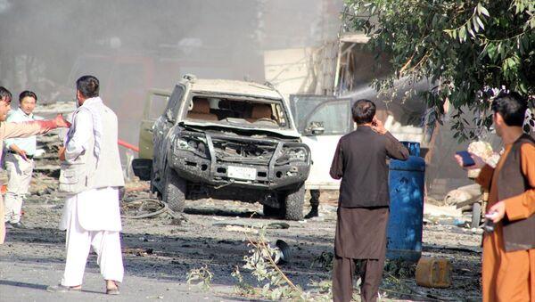 Afganistan'da bombalı saldırı - Sputnik Türkiye