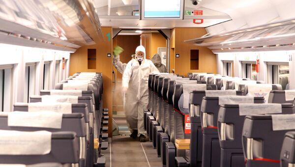 Ankara - tren - koronavirüs - Sputnik Türkiye