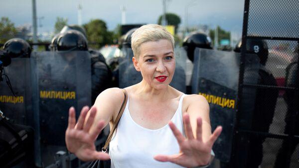 Belaruslu muhalif siyasetçi Mariya Kolesnikova - Sputnik Türkiye