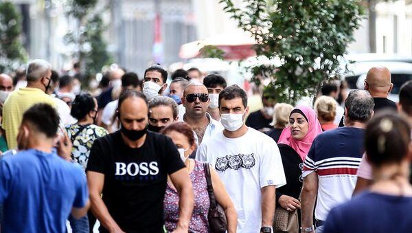sokakta maske takma zorunluluğu, koronavirüs - Sputnik Türkiye