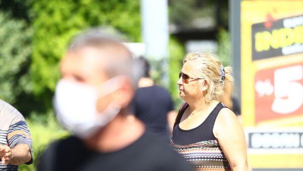 maske takma zorunluluğu, maske takmayan vatandaşlar - Sputnik Türkiye