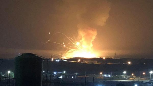 Ürdün, patlama - Sputnik Türkiye