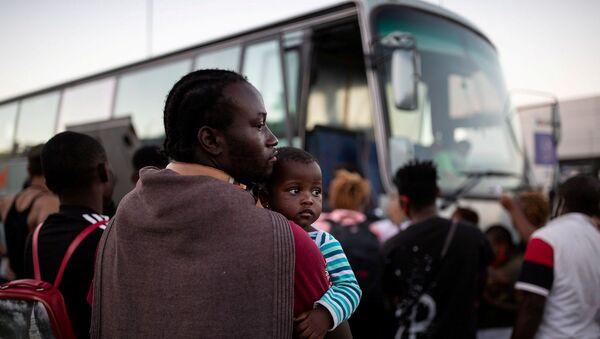 Sığınmacı – Midilli, kamp – mülteci - Yunanistan  - Sputnik Türkiye