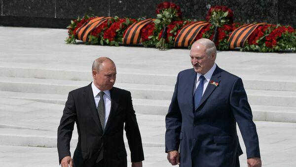 Vladimir Putin-Aleksandr Lukaşenko - Sputnik Türkiye