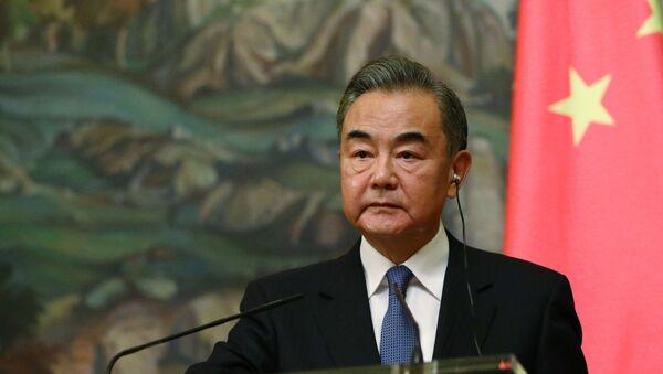 Çin Dışişleri Bakanı Wang Yi  - Sputnik Türkiye