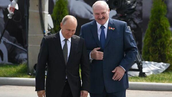 Vladimir Putin - Aleksandr Lukaşenko - Sputnik Türkiye