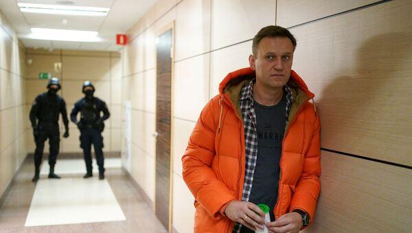 Rus muhalif politikacı Aleksey Navalnıy - Sputnik Türkiye