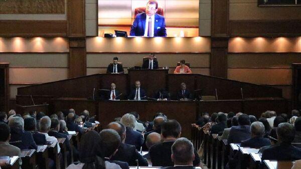 İstanbul Büyükşehir Belediye Meclisi, Ekrem İmamoğlu - Sputnik Türkiye