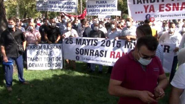 10 bin yeni servis plakası eylemi - Sputnik Türkiye