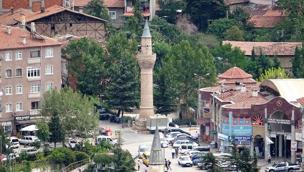 Tokat'ta camisinden ayrı minare - Sputnik Türkiye