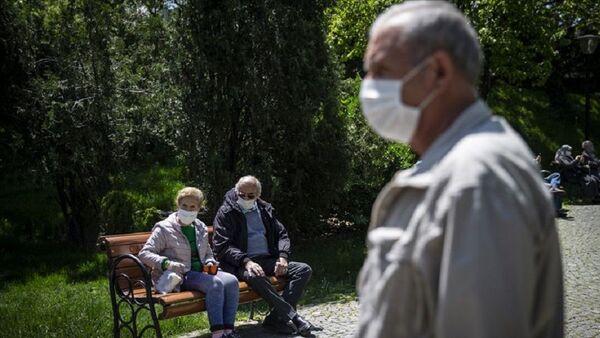 Türkiye, yaşlı, koronavirüs, maske - Sputnik Türkiye