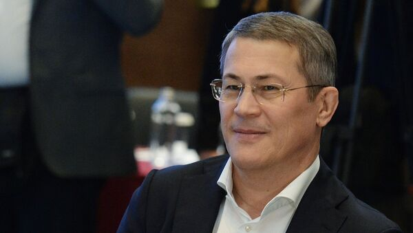 Rusya Federasyonu'na bağlı Başkurtistan Cumhuriyeti Başkanı Radiy Habirov - Sputnik Türkiye