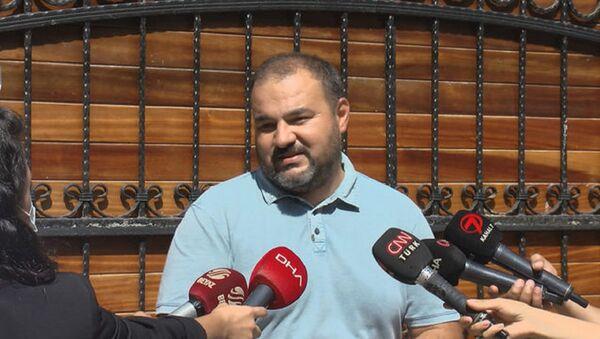 Hüseyin Meriç'in oğlu Mesih Meri - Sputnik Türkiye