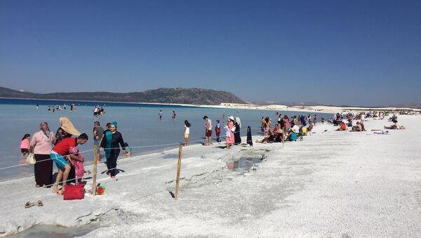 Salda Gölü Özel Çevre Koruma Bölgesi 1/25000 Ölçekli Nazım İmar Planı Çevre ve Şehircilik Bakanlığı tarafından onaylandı - Sputnik Türkiye