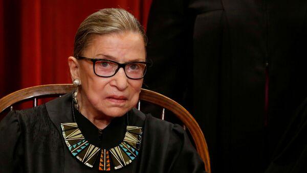 ABD Yüksek Mahkemesi Yargıcı Ruth Bader Ginsburg - Sputnik Türkiye