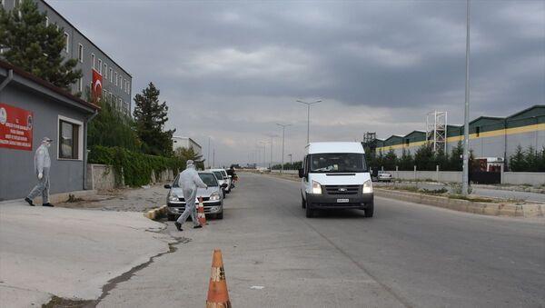 Afyonkarahisar'da 23 asker, yeni tip koronavirüs (Kovid-19) tedbirleri kapsamında Kredi Yurtlar Kurumu (KYK) yurdunda karantinaya alındı. - Sputnik Türkiye